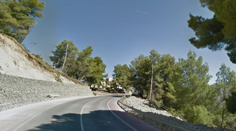 new road Alcoy to benidorm