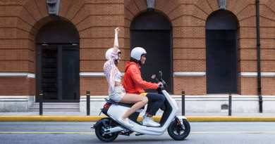 NIU electric scooter