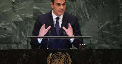 United Nations Spanish Prime Minister Pedro Sánchez