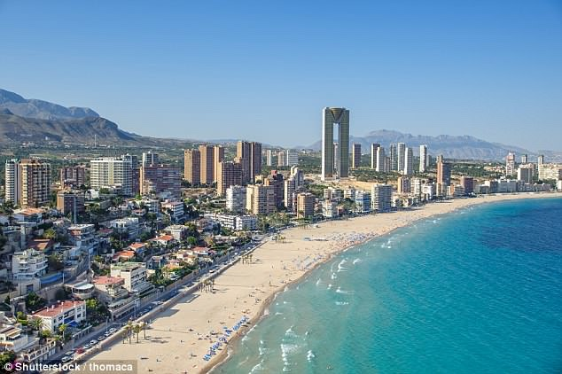 man jumps from benidorm hotel