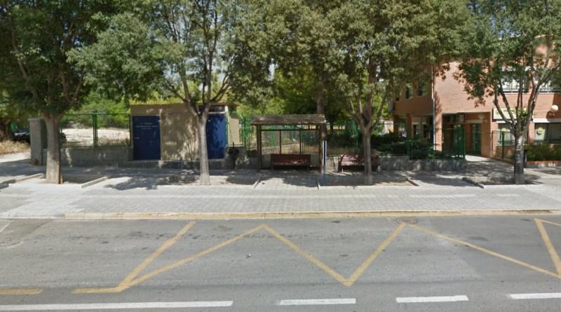 bus stop muro de alcoy