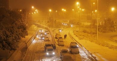 Spain Shivers Under A Blanket Of Snow
