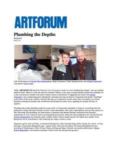 Artforum_Plumbing the Depths-1