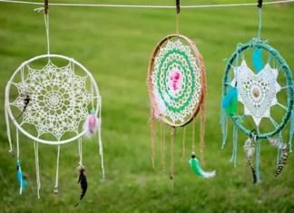Atrapasueños Tejido al Crochet