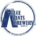 Blue Pants Logo