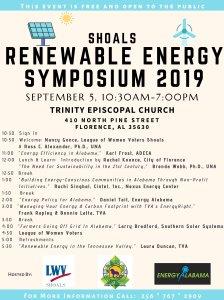2019 Shoals Renewable Energy Symposium