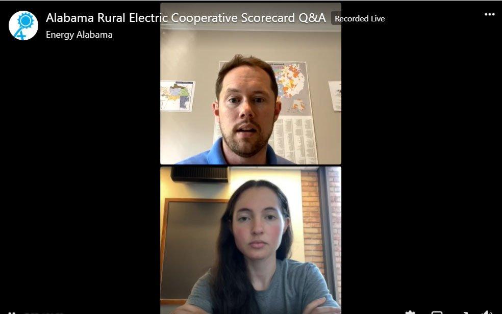 Alabama Rural Electric Cooperative Scorecard author Q&A