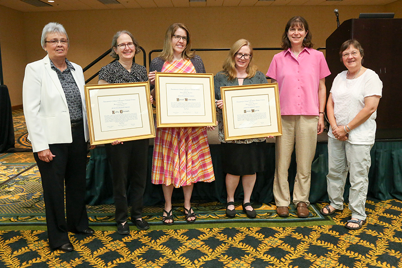 ALCTS Presidential Citations recipients, sponsor, and presenter