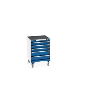 Mobile 5 Drawer Cabinet