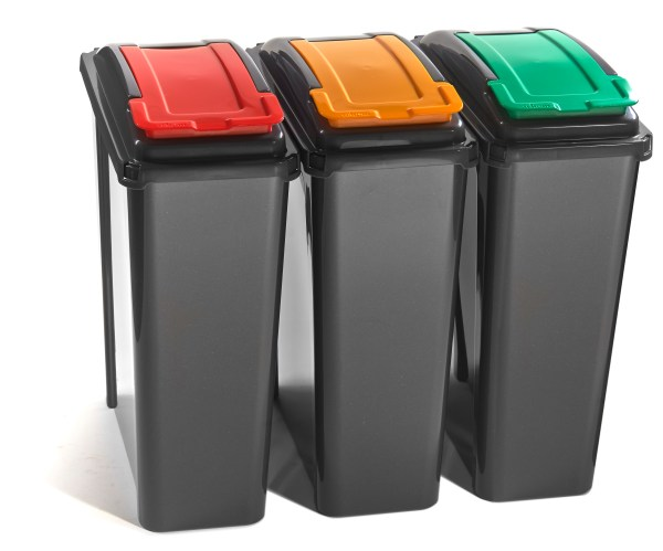25 Litre Lift Top Recycling Bins