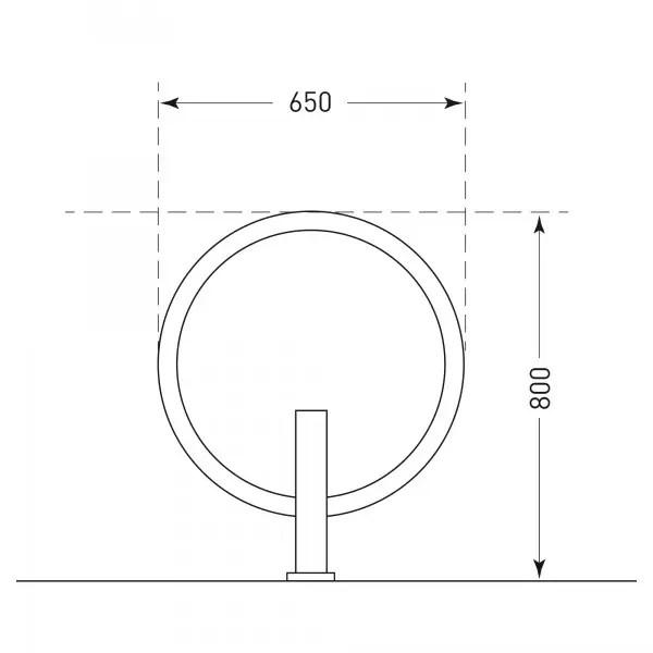 Circular Cycle Stand
