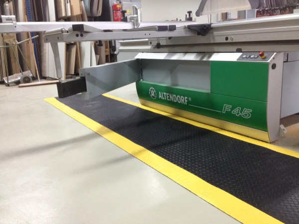 Deckplate Anti-Fatigue Safety Mat