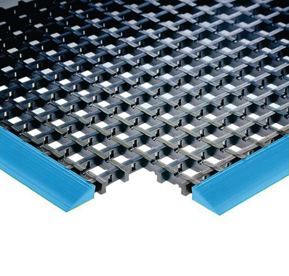 Hazard Warning PVC Workstation Mat