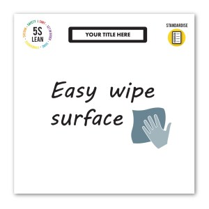 Magnetic Dry Wipe Notice Board