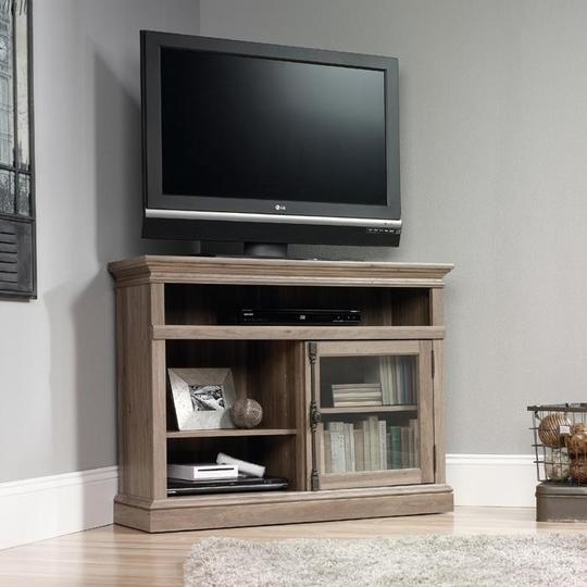 Barrister Home Corner TV Stand