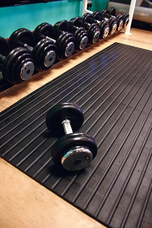 Weightroom Rubber Mat