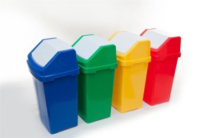 50 Litre Flip Top Recycling Bins