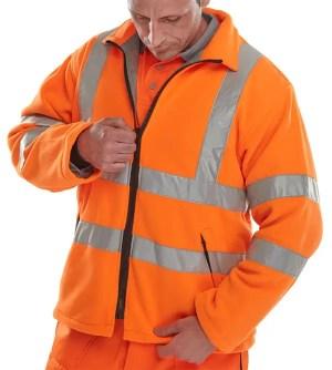 Hi Visibility Carnoustie Fleece Jacket