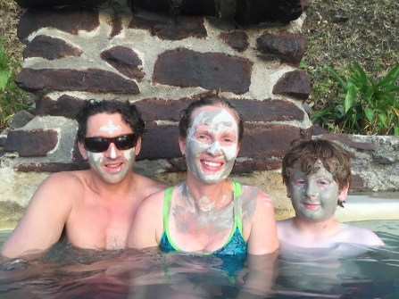 Mud baths in the mountains