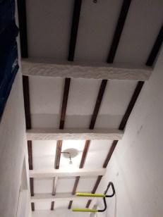 Cuadriculas de vigas de yeso, que darán un nuevo aire a tu techo.
