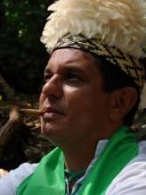 Sacerdote Irbs Santos como Cacique Pena Branca_2009
