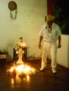 Sacerdote Irbs Santos em Trabalho Ritualístico do  Preto Velho_2010