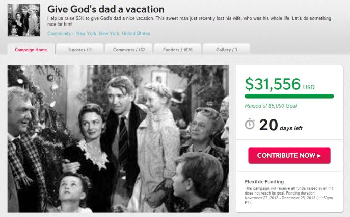 God' indiegogo