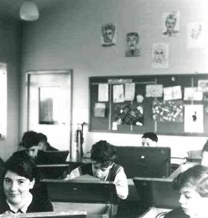 Busy students - date unknown.