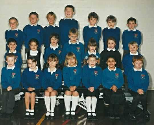 Mr Jodrell's Class 2000/2001.
