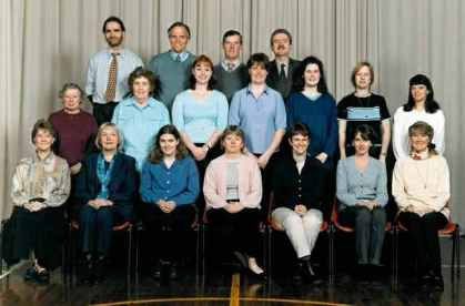 School staff 2000.
