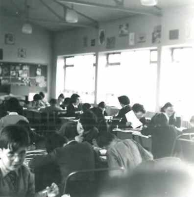 Classroom - year unknown.