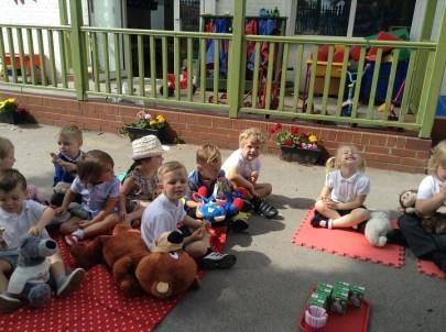 Teddy bears' picnic.