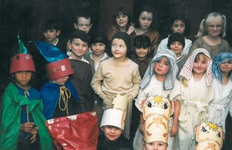 KS1 Christmas Production 1999.