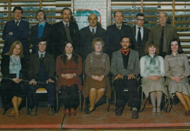 Staff 1978.