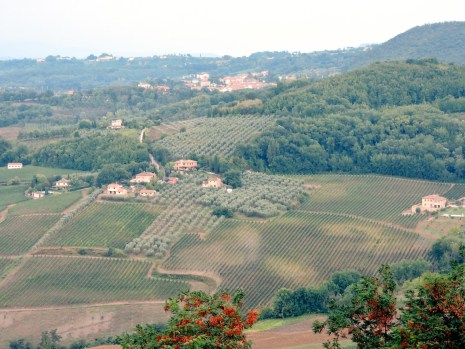 View from Montepulciano.