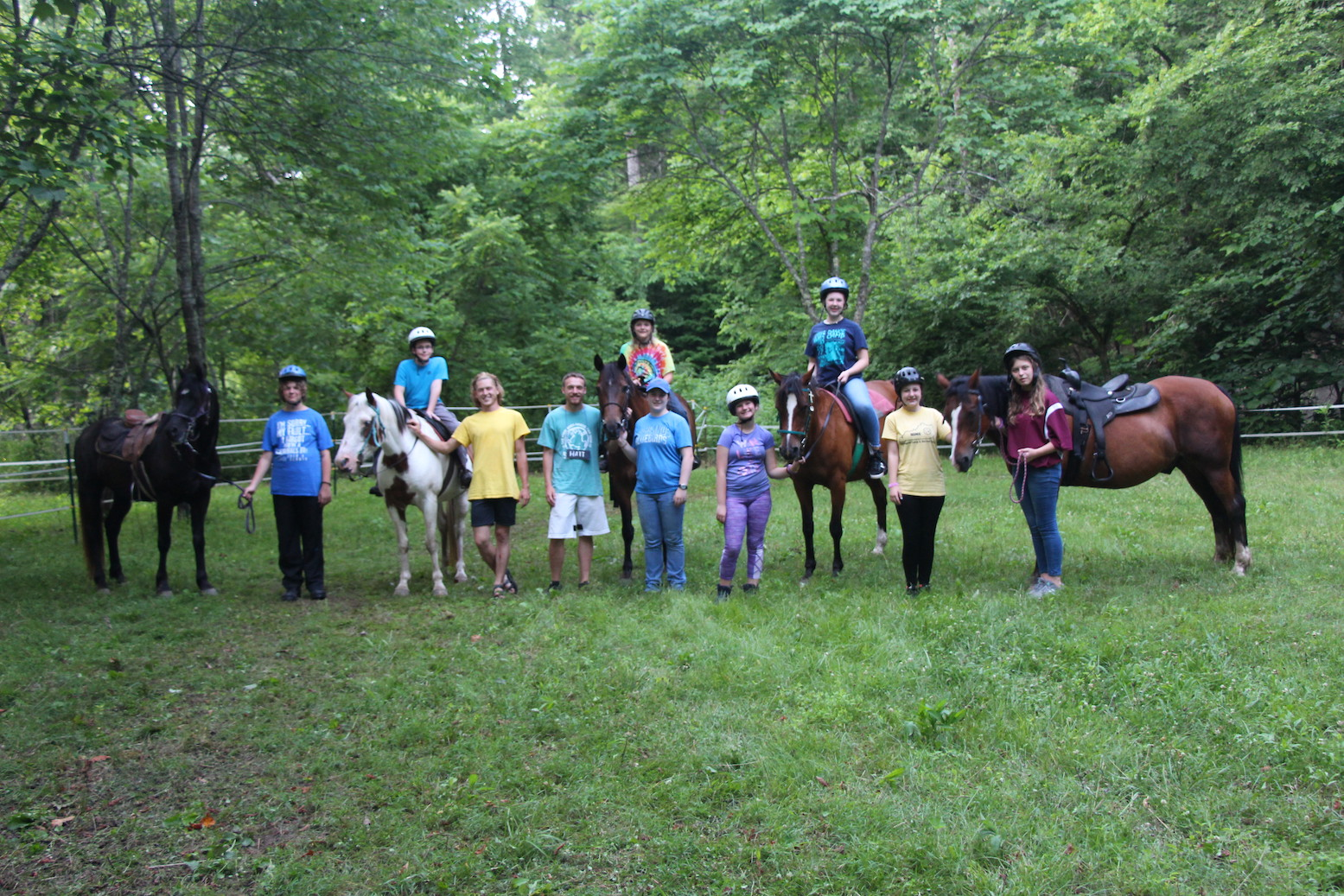 Middle School Horse Camp