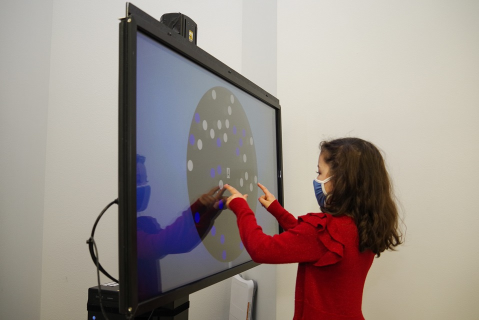 Vision Therapy in action