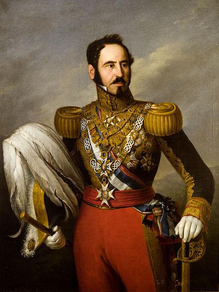 Retrato del general español Baldomero Espartero (1793-1879), príncipe de Vergara y regente de España.