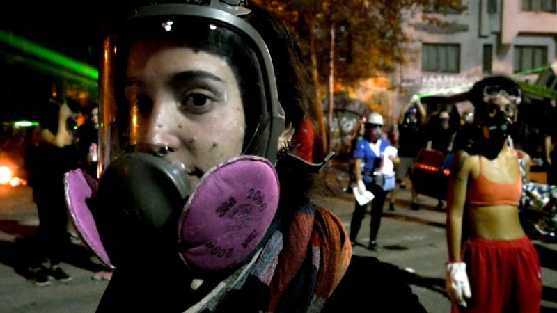 Protestas en Santiago de Chile, 7 de febrero de 2020, por Davinia Pérez
