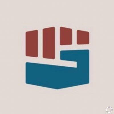 """Simbolo de puño de """"Sleeping Giants"""" de su cuenta de redes sociales.  Propietario """"Sleeping Giants"""". Captura tomada a las 15:20 de 15 de Junio de 2020. https://twitter.com/slpng_giants/photo"""