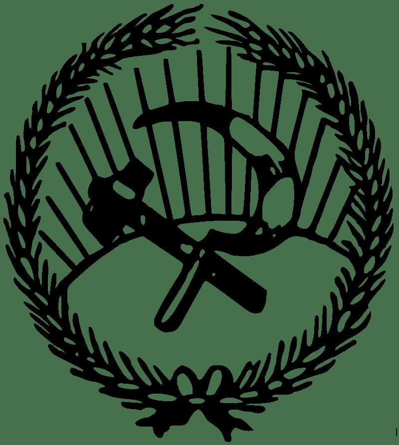 Logo del partido socialista italiano en las elecciones de 1919. Autor: desconocido Fecha: 4 de Septiembre de 2019 Fuente: Wikimedia Commons. Dominio Público