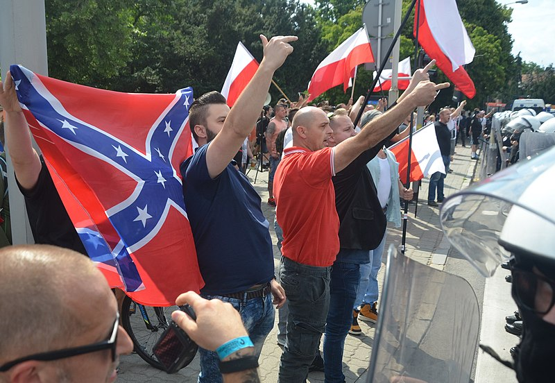 Descripción English: Fascismo Neo-Nazis attack an LGBT rigths pride parade in Rzeszów Fecha 22 de junio de 2019, 15:26:30 Fuente Autor Silar