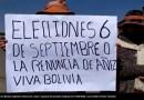 Manifestantes en Bolivia exigiendo elecciones. Autor: Captura de pantalla realizada el 17/08/2020 a las 13:18h. Fuente: Youtube.