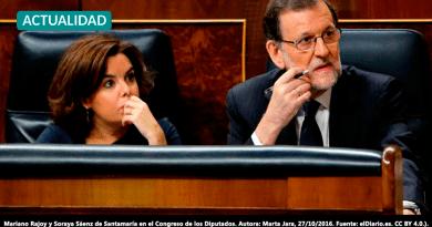 Los audios de Villarejo aseguran que Sáenz de Santamaría metió micrófonos en el Congreso y señalan a Rajoy