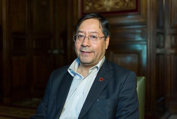 Luis Arce Catacora, Ministro de Economía y Finanzas Públicas de Bolivia y candidato a las elecciones en Bolivia. Autor: Casa de América, 26/04/2019. Fuente: Flickr. (CC BY-NC-ND 2.0).