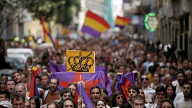Manifestación republicana. Autor: Desconocido. Fuente: kaosenlared.net