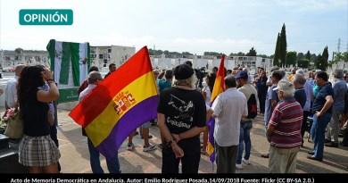 Acto de Memoria Democrática en Andalucía. Autor: Emilio Rodríguez Posada,14/09/2018 Fuente: Flickr (CC BY-SA 2.0.)