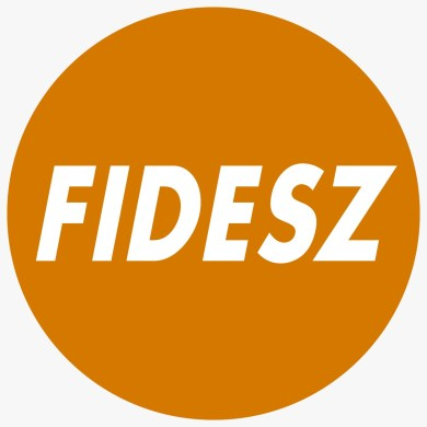 Logo de Fidesz. Autor: Fidesz, 30/01/2012. Fuente: Wikimedia Commons