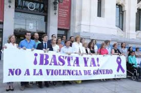Concentración durante el 25N. Autor: Diario de Madrid, 09/07/2018. Fuente: diario.madrid.es (CC BY 4.0.)