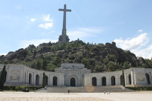 Valle de los Caídos, monumento de inspiración religiosa donde fue estuvo enterrado el dictador Francisco Franco hasta 2019.